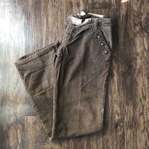 Dolce & Gabbana: Brown corduroy pants